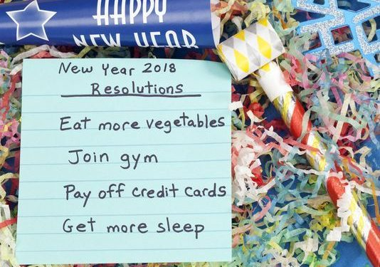 Financial goal Resolve to slim down your credit card debt in 2018