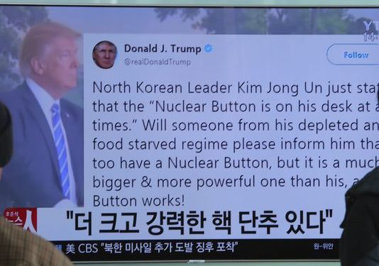 How Trump's 'nuclear button' tweet could jeopardize his foreign policy