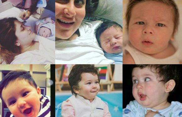 35 cutest Taimur Ali Khan pictures which broke the internet this year