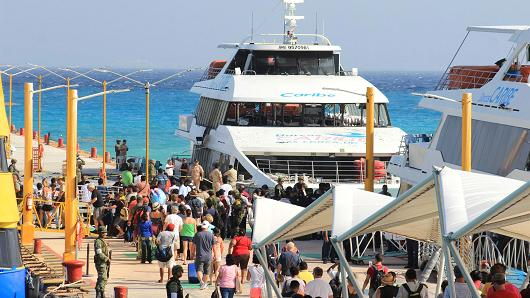 U.S. warning over Mexican resort reaction