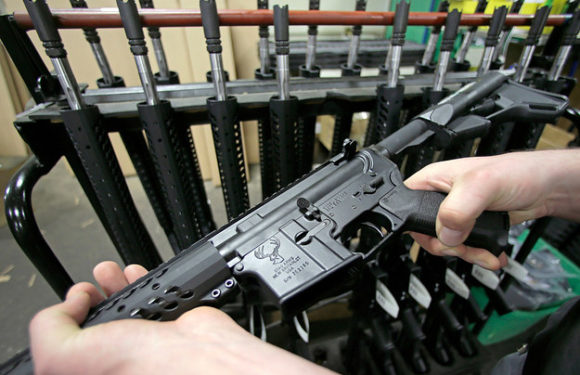Bank of America pledges to halt lending to assault-weapon manufacturers