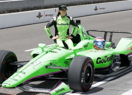 Danica Patrick Wrecks Out Of The Indianapolis 500, her final professional race